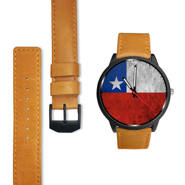 Chile Flag Watch Watch wc-fulfillment Country Flag Socks, State Socks, Flag Socks, Patriotic Socks, Patriotic Products, Country Watches