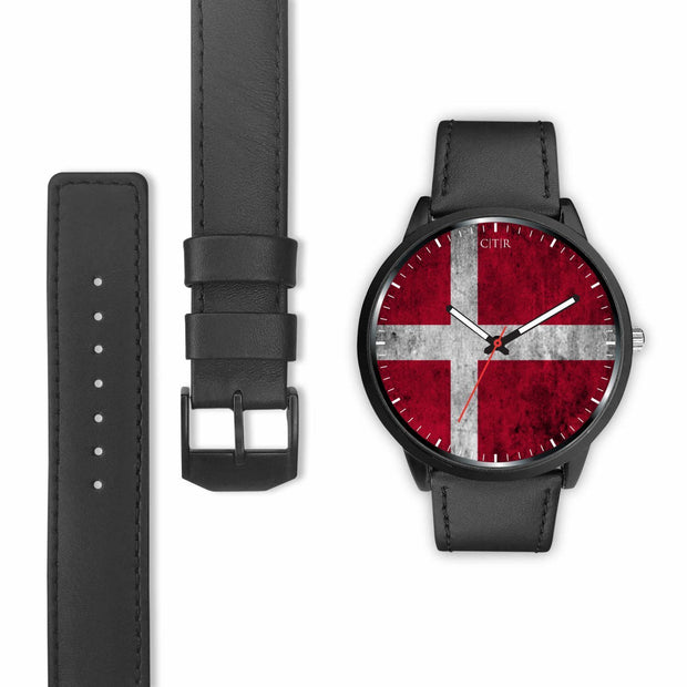 Denmark Flag Watch Watch wc-fulfillment Country Flag Socks, State Socks, Flag Socks, Patriotic Socks, Patriotic Products, Country Watches