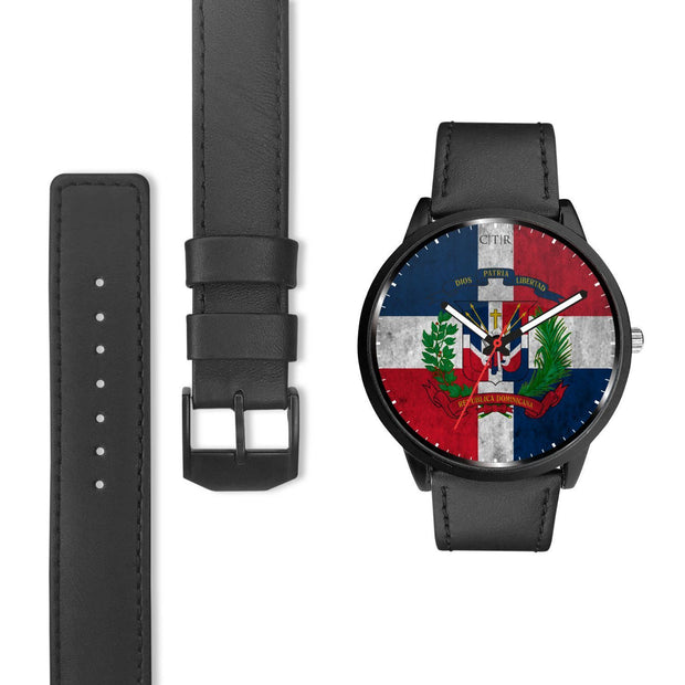 Dominican Republic Flag Watch Watch wc-fulfillment Country Flag Socks, State Socks, Flag Socks, Patriotic Socks, Patriotic Products, Country Watches