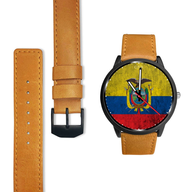 Ecuador Flag Watch - Choose To Rep