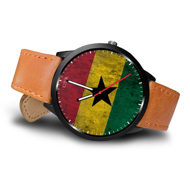 Ghana Flag Watch Watch wc-fulfillment Country Flag Socks, State Socks, Flag Socks, Patriotic Socks, Patriotic Products, Country Watches