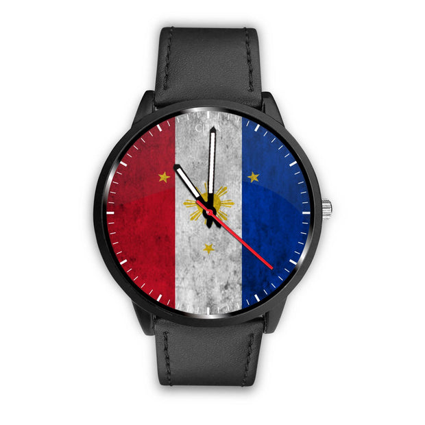 wc-fulfillment Watch Mens 40mm / Black Philippines - Flag Watch