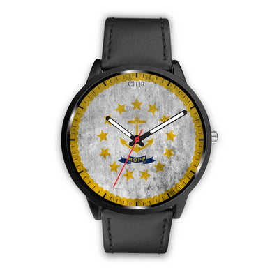 wc-fulfillment Watch Mens 40mm / Black Rhode Island - Flag Watch