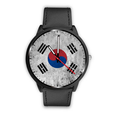 wc-fulfillment Watch Mens 40mm / Black South Korea - Flag Watch
