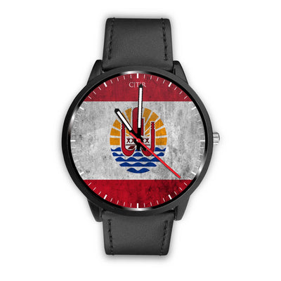 wc-fulfillment Watch Mens 40mm / Black Tahiti - Flag Watch