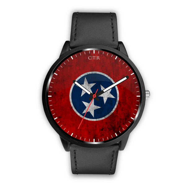 wc-fulfillment Watch Mens 40mm / Black Tennessee - Flag Watch
