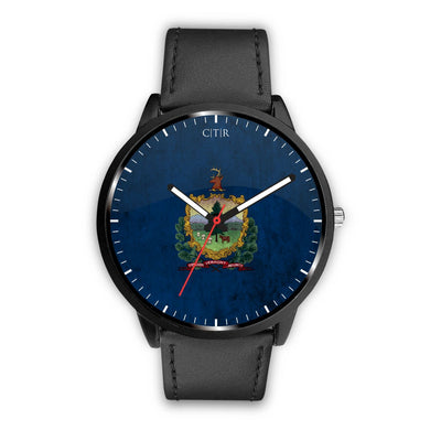 wc-fulfillment Watch Mens 40mm / Black Vermont - Flag Watch
