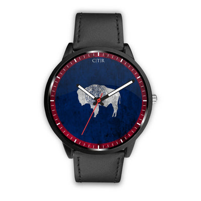 Choose to rep wyoming flag watch, state watches, country watches