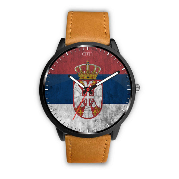 Serbia Flag Watch - Choose To Rep