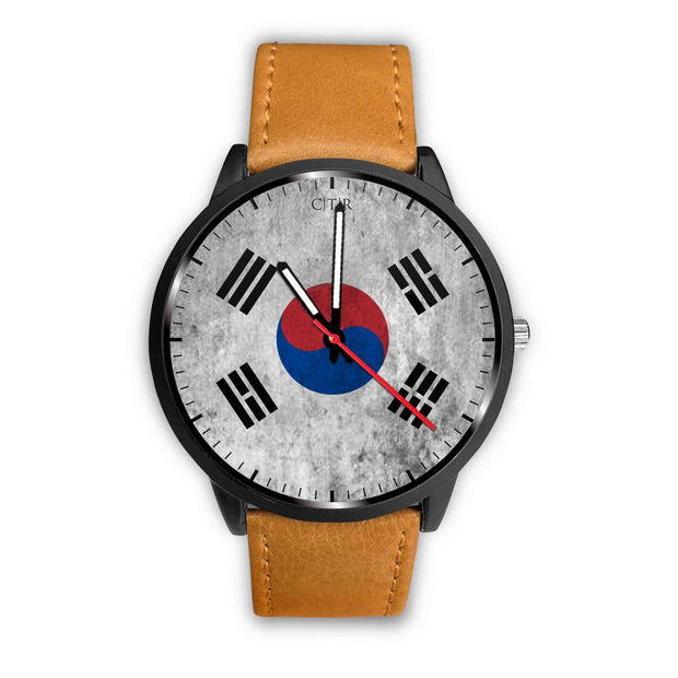 wc-fulfillment Watch Mens 40mm / Brown South Korea - Flag Watch