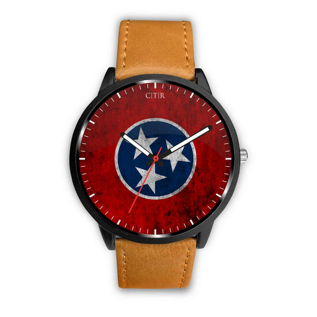 wc-fulfillment Watch Mens 40mm / Brown Tennessee - Flag Watch