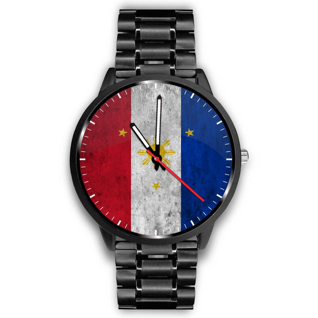 wc-fulfillment Watch Mens 40mm / Metal Link Philippines - Flag Watch