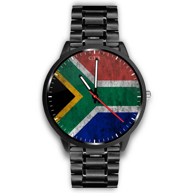 wc-fulfillment Watch Mens 40mm / Metal Link South Africa - Flag Watch