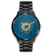 wc-fulfillment Watch Mens 40mm / Metal Link South Dakota - Flag Watch