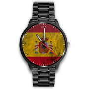 wc-fulfillment Watch Mens 40mm / Metal Link Spain - Flag Watch
