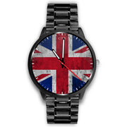wc-fulfillment Watch Mens 40mm / Metal Link United Kingdom - Flag Watch
