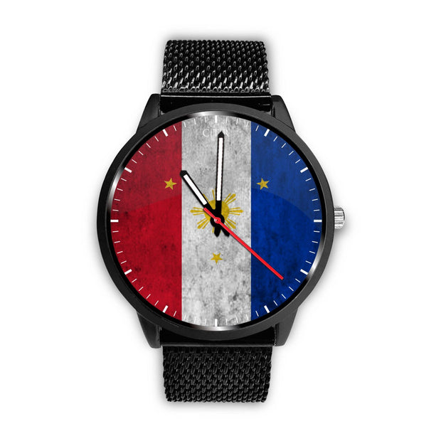 wc-fulfillment Watch Mens 40mm / Metal Mesh Philippines - Flag Watch