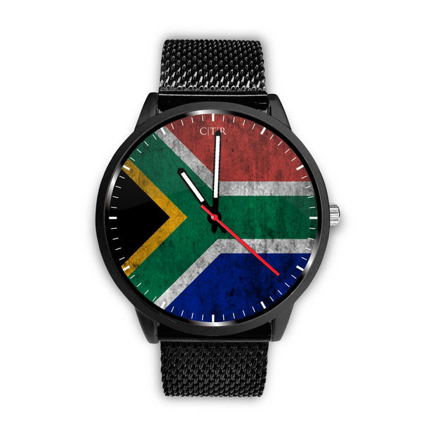 wc-fulfillment Watch Mens 40mm / Metal Mesh South Africa - Flag Watch