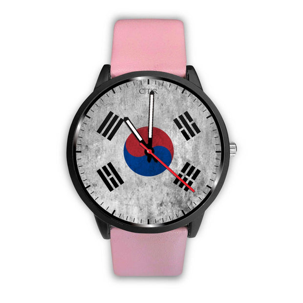 wc-fulfillment Watch Mens 40mm / Pink South Korea - Flag Watch