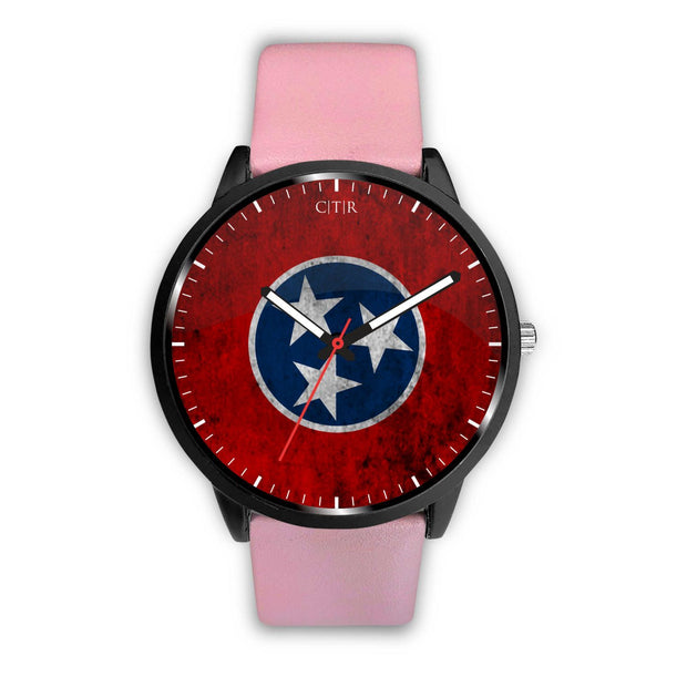 wc-fulfillment Watch Mens 40mm / Pink Tennessee - Flag Watch