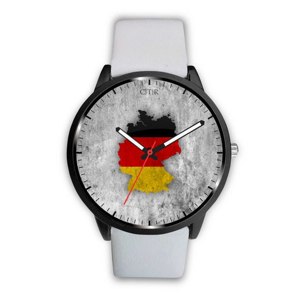 Germany Flag Watch Watch wc-fulfillment Mens 40mm White Country Flag Socks, State Socks, Flag Socks, Patriotic Socks, Patriotic Products, Country Watches