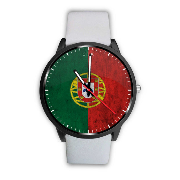 wc-fulfillment Watch Mens 40mm / White Portugal - Flag Watch