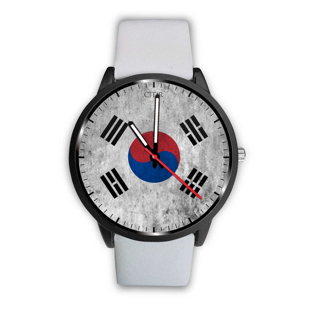 wc-fulfillment Watch Mens 40mm / White South Korea - Flag Watch