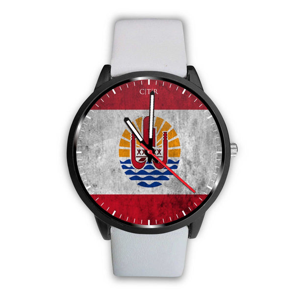 wc-fulfillment Watch Mens 40mm / White Tahiti - Flag Watch