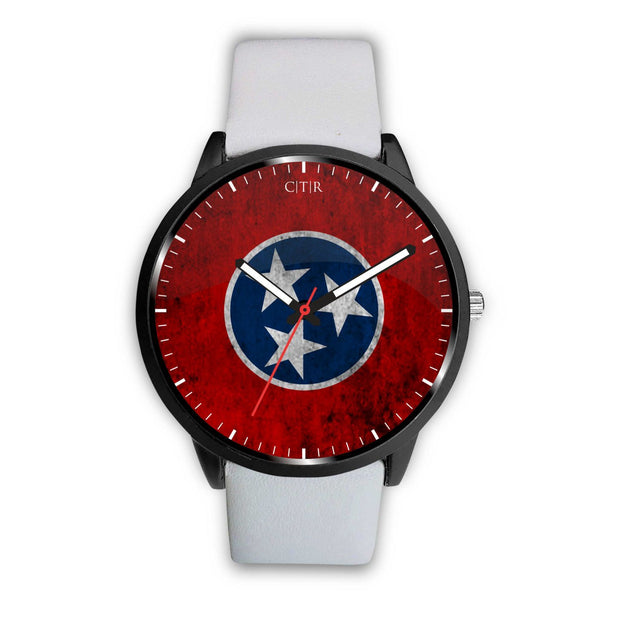 wc-fulfillment Watch Mens 40mm / White Tennessee - Flag Watch