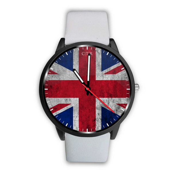 wc-fulfillment Watch Mens 40mm / White United Kingdom - Flag Watch