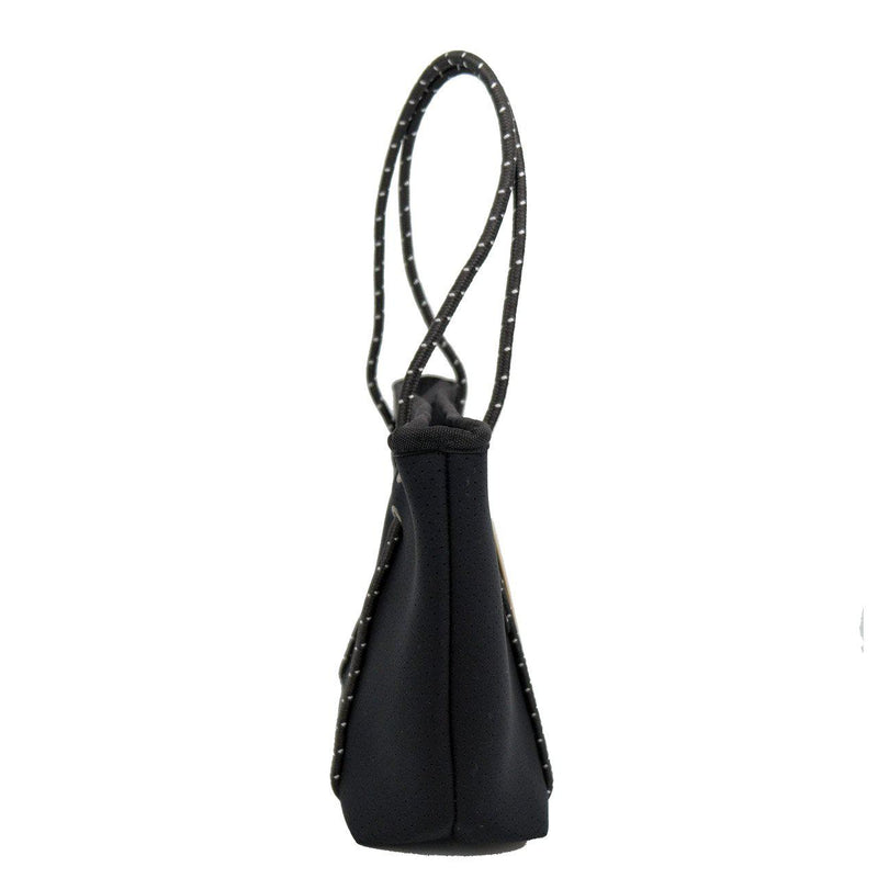 BOUTIQUE MINI Neoprene Zip Tote - Black-Willow Bay Australia