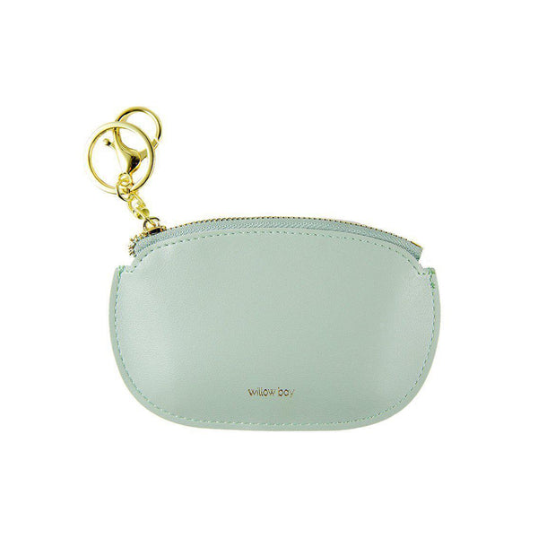 COIN PURSE with Keychain - MINT-Willow Bay