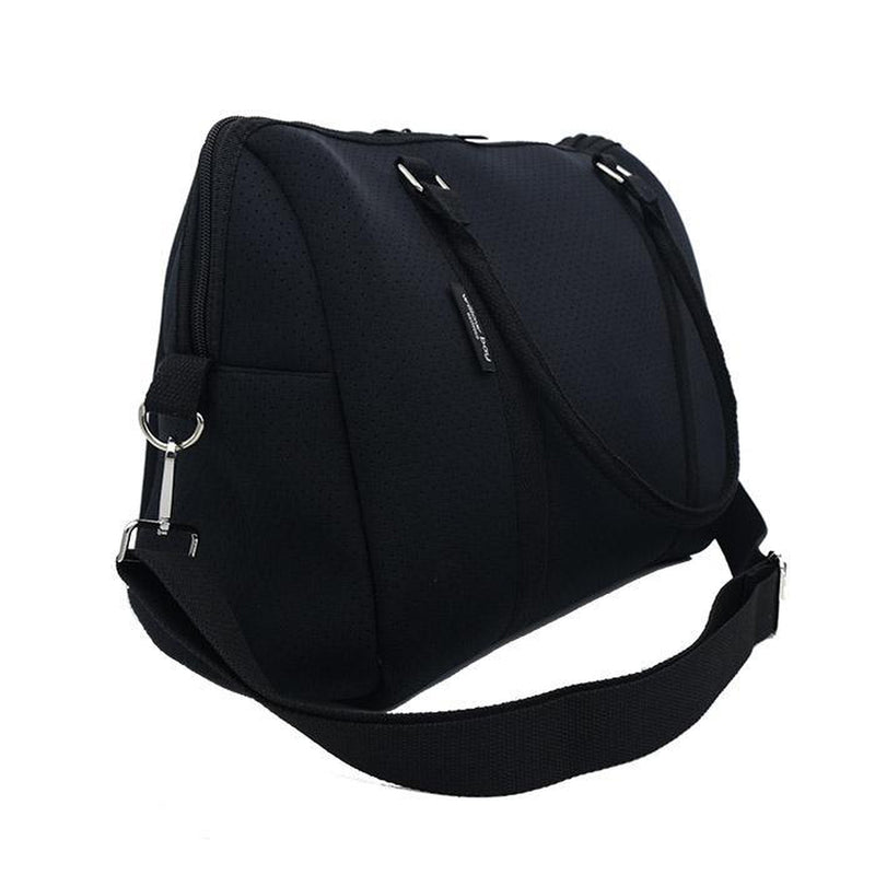EXPRESS DUFFEL Neoprene Bag - BLACK-Duffel-Willow Bay Australia