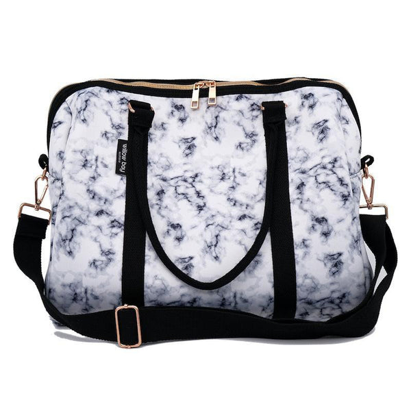 EXPRESS DUFFEL Neoprene Bag - MARBLE-Willow Bay