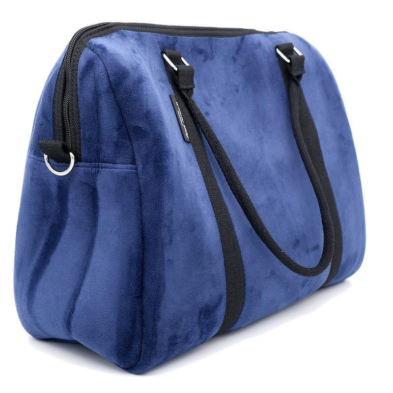 EXPRESS DUFFEL Neoprene Bag - NAVY VELVET-Duffel-Willow Bay Australia