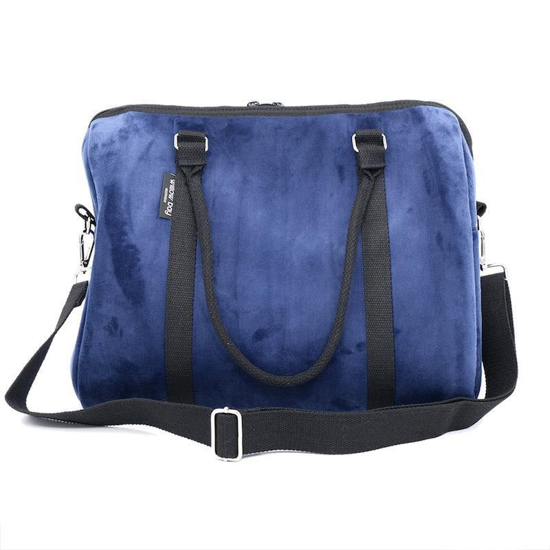 EXPRESS DUFFEL Neoprene Bag - NAVY VELVET-Willow Bay