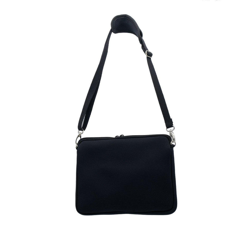 KIDS IPAD CROSSBODY BAG - Black/Marle-Willow Bay Australia