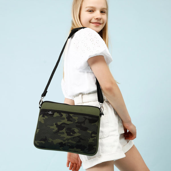 KIDS IPAD BAG - Khaki/Camo-Willow Bay Australia