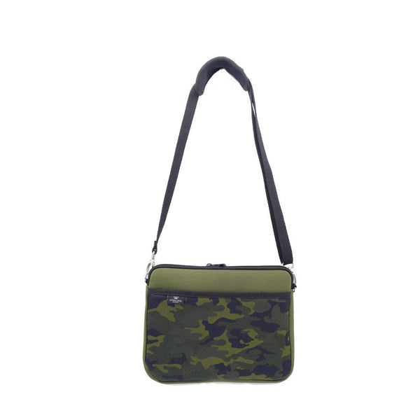 KIDS IPAD BAG - Khaki/Camo-Willow Bay