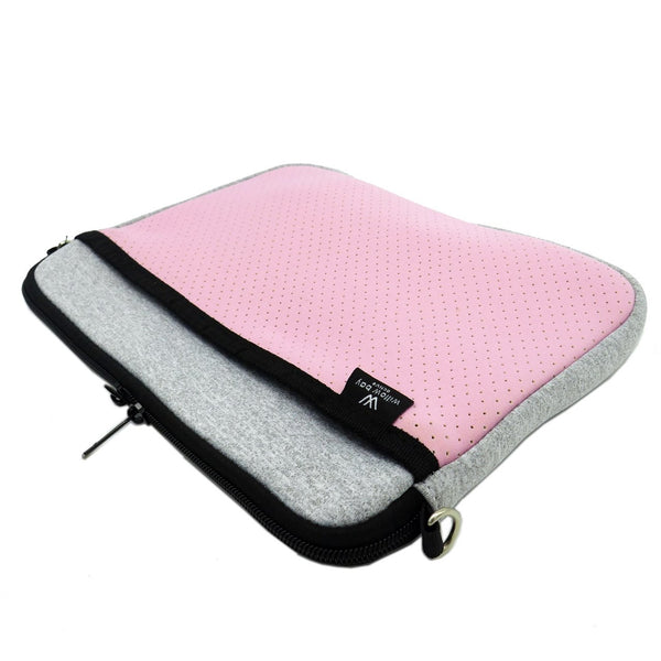 KIDS IPAD BAG - Light Marle/Pink-Willow Bay Australia