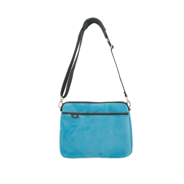 KIDS IPAD BAG - Teal Velvet-Willow Bay