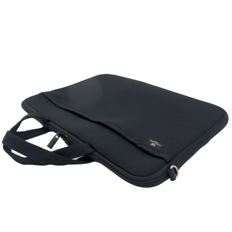 KIDS MINI LAPTOP BAG - Black-Willow Bay Australia