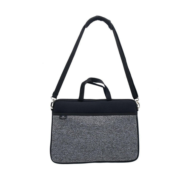 KIDS MINI LAPTOP BAG - Black/Marle-Willow Bay