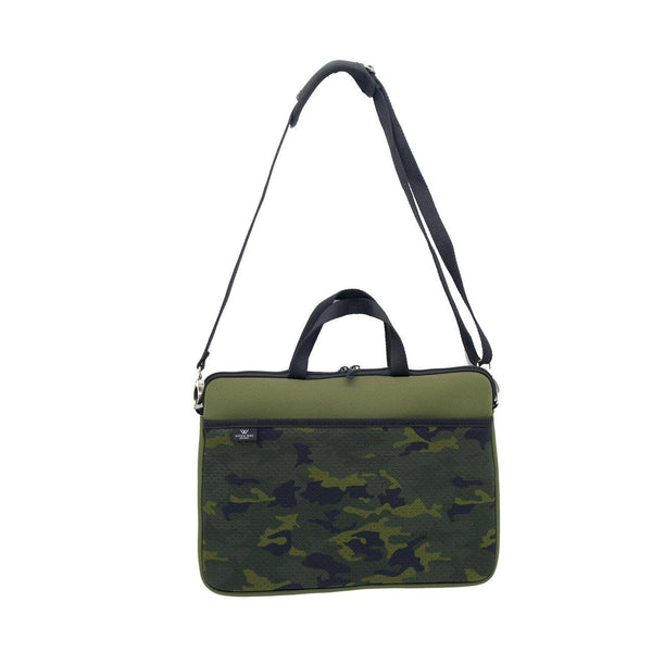 KIDS MINI LAPTOP BAG - Khaki/Camo-Willow Bay
