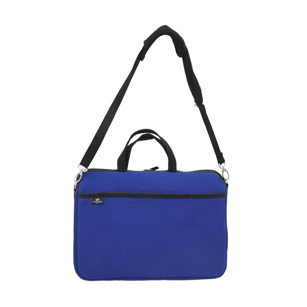 KIDS MINI LAPTOP BAG - Navy-Willow Bay Australia