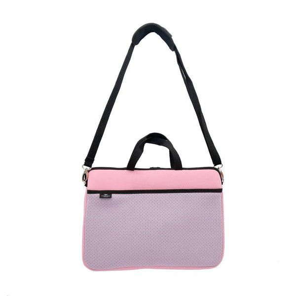 KIDS MINI LAPTOP BAG - Pink/Soft Lilac-Willow Bay