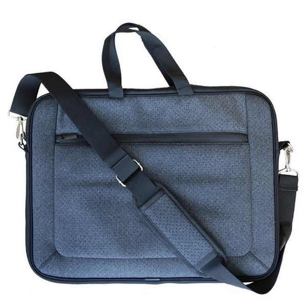 LAPTOP Bag Neoprene - BLACK DENIM-Willow Bay