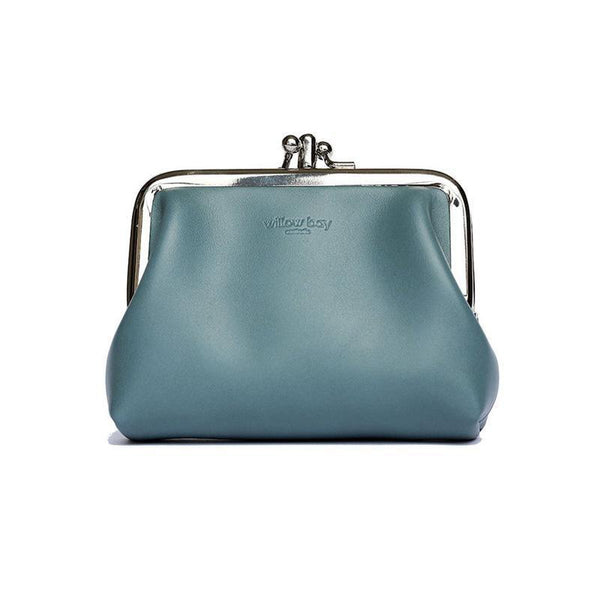 PENNY PURSE - Slate Blue-Willow Bay