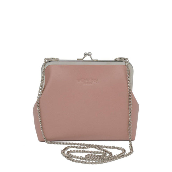 VINTAGE CLUTCH - Blush Pink-Willow Bay