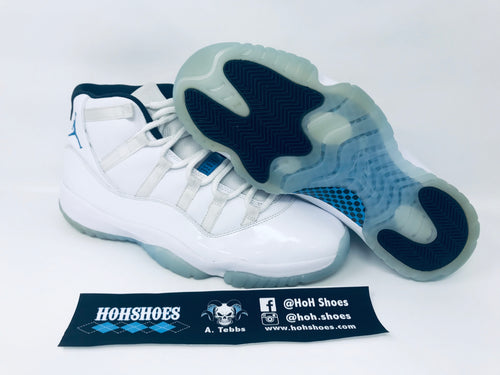 Air Jordan 11 XI Legend Blue (2014) 378037-117 Size 11.5 with replacement box